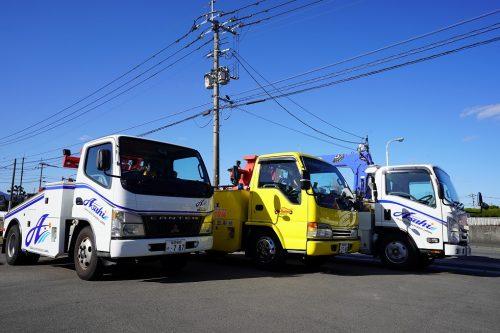 冬季のお車のトラブル朝日自動車ロードサービスにお任せ下さい!